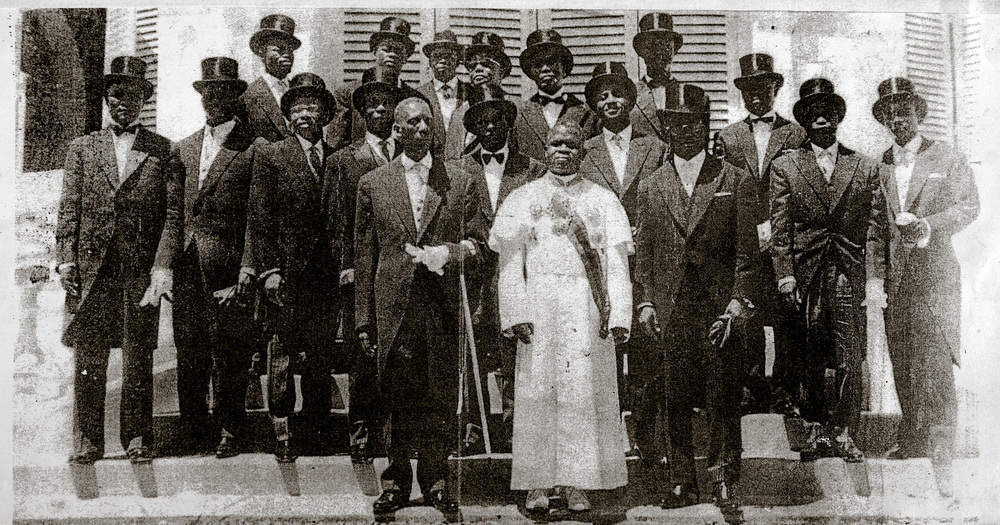 First independent Congolese government. Brazzaville, 1960.