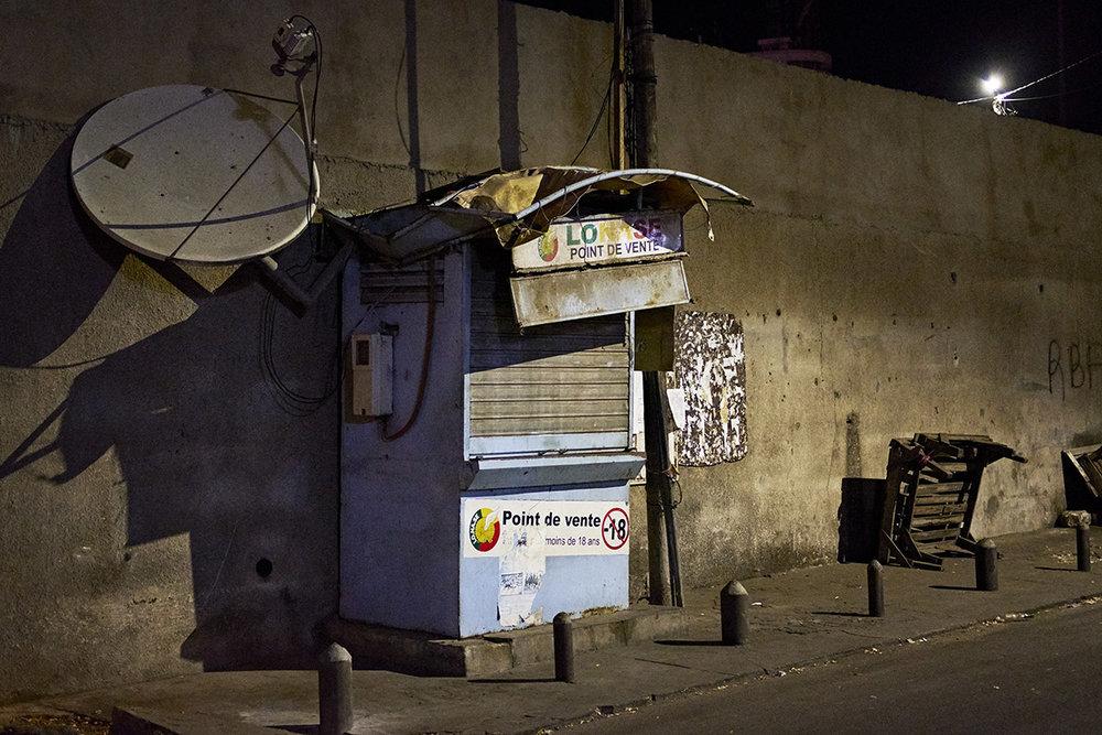 Marché Sandaga of Dakar (Senegal).
