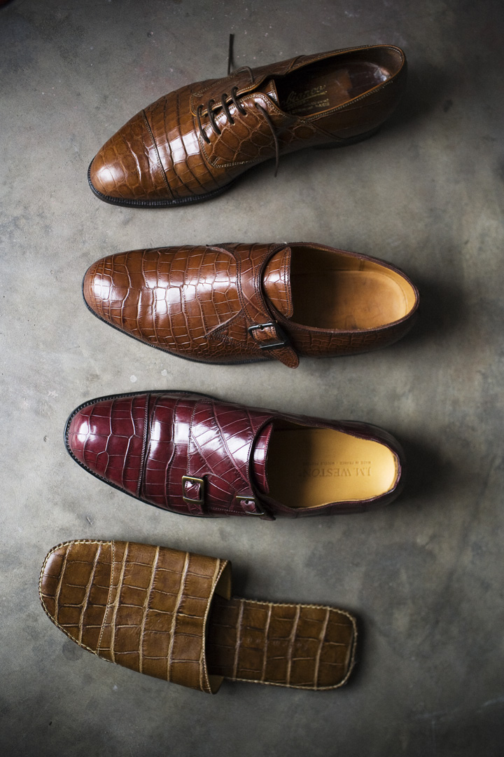 CROCODILE SHOE COLLECTION