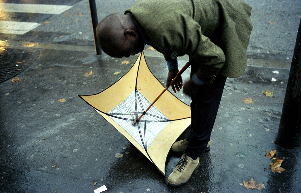 KIKI LAMAME AND HIS UMBRELLA