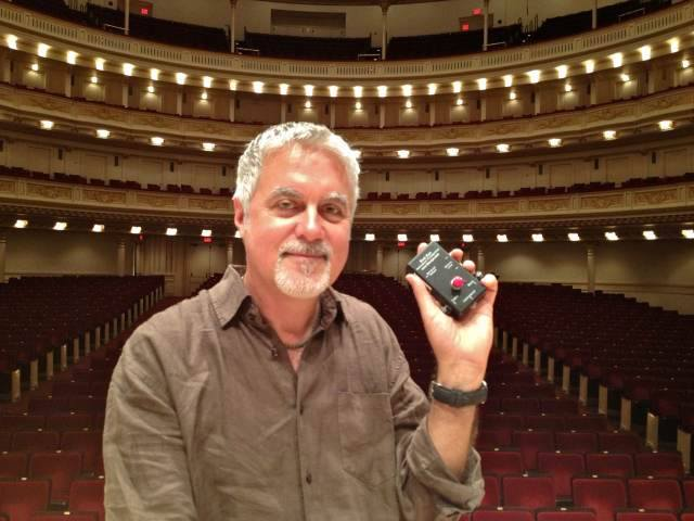 John Benthal at Carnegie Hall
