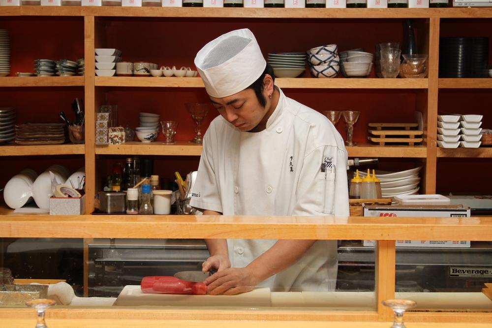 Chef Keisuke Ito