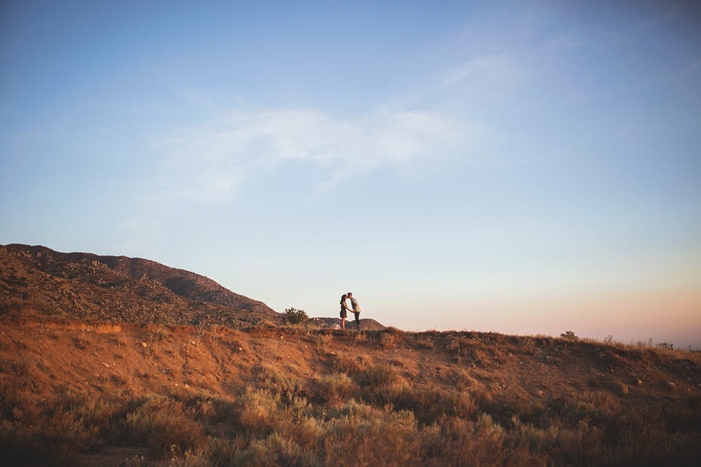 Albuquerque New Mexico Foothills Couple Session | Liz Anne Photography 01