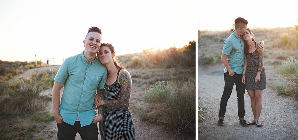 Albuquerque New Mexico Foothills Couple Session | Liz Anne Photography 03