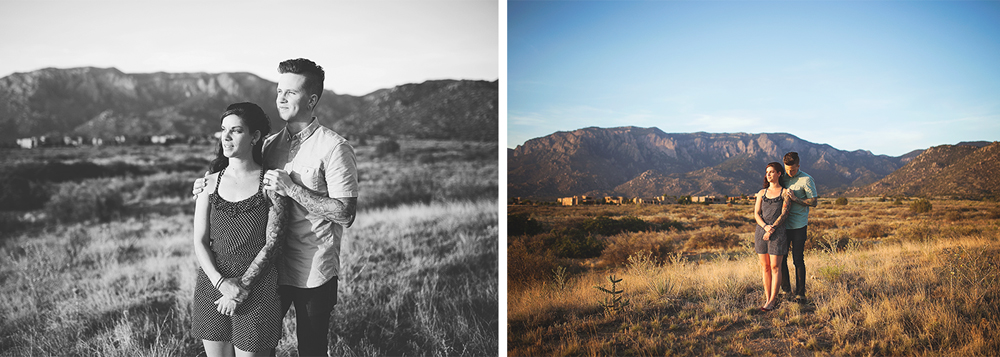 Albuquerque New Mexico Foothills Couple Session | Liz Anne Photography 08