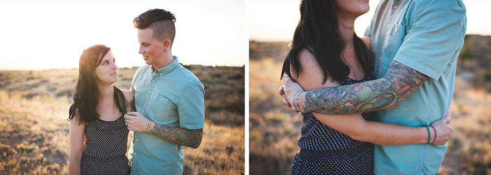 Albuquerque New Mexico Foothills Couple Session | Liz Anne Photography 11