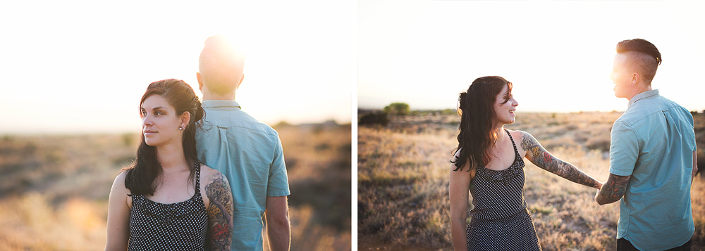 Albuquerque New Mexico Foothills Couple Session | Liz Anne Photography 14