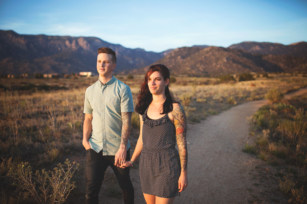 Albuquerque New Mexico Foothills Couple Session | Liz Anne Photography 20