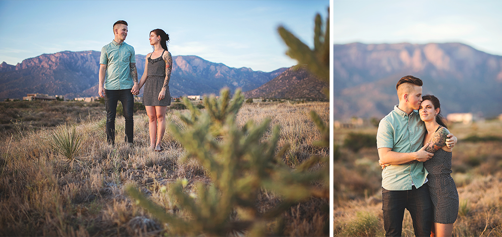 Albuquerque New Mexico Foothills Couple Session | Liz Anne Photography 24
