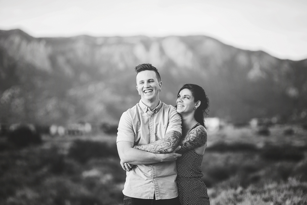 Albuquerque New Mexico Foothills Couple Session | Liz Anne Photography 25