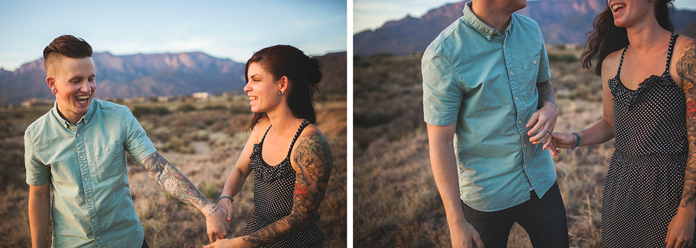 Albuquerque New Mexico Foothills Couple Session | Liz Anne Photography 28