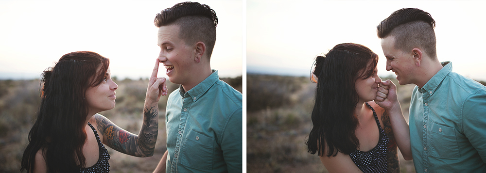Albuquerque New Mexico Foothills Couple Session | Liz Anne Photography 34