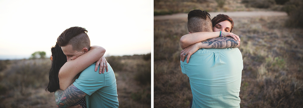 Albuquerque New Mexico Foothills Couple Session | Liz Anne Photography 36