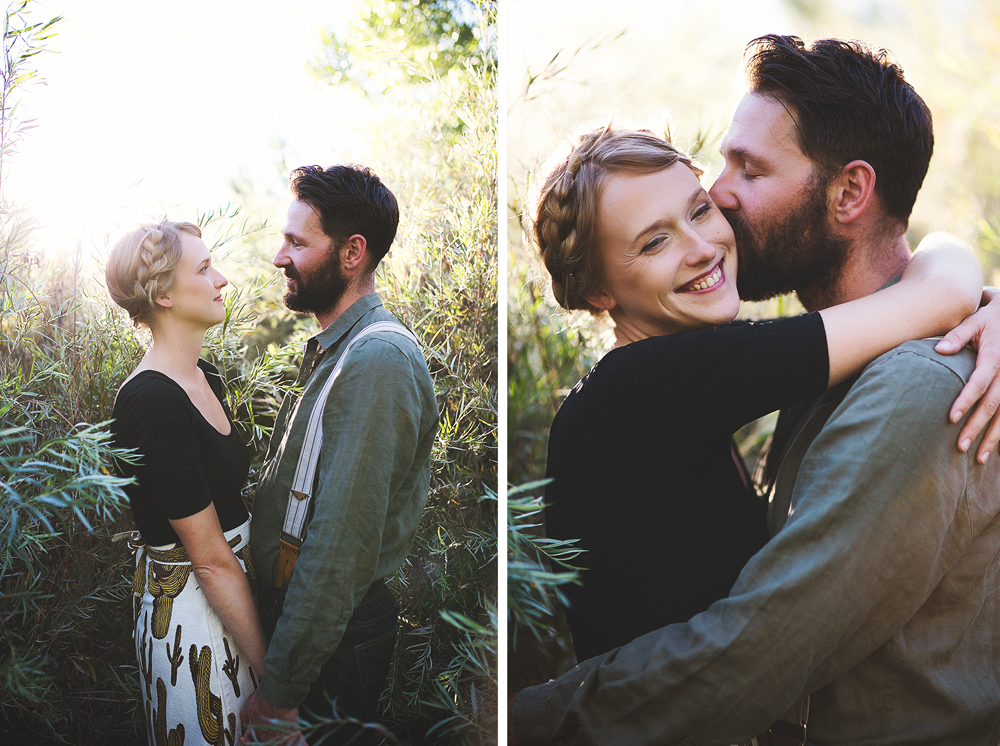 Ben + Chelsea | Albuquerque Sunflower Engagement Session | Liz Anne Photography 09