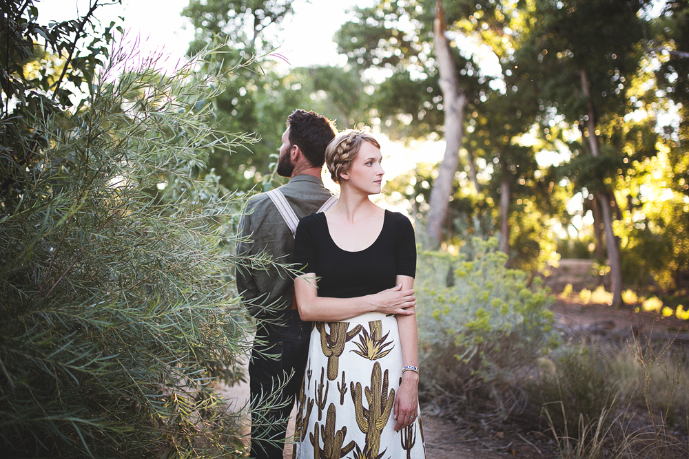 Ben + Chelsea | Albuquerque Sunflower Engagement Session | Liz Anne Photography 18