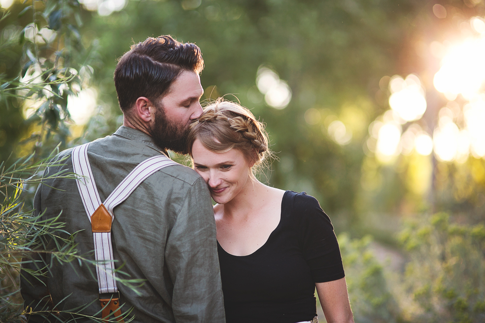 Ben + Chelsea | Albuquerque Sunflower Engagement Session | Liz Anne Photography 21