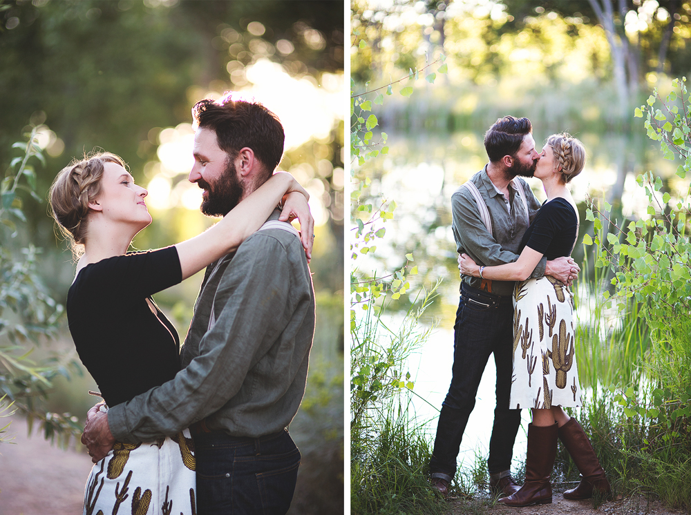 Ben + Chelsea | Albuquerque Sunflower Engagement Session | Liz Anne Photography 22