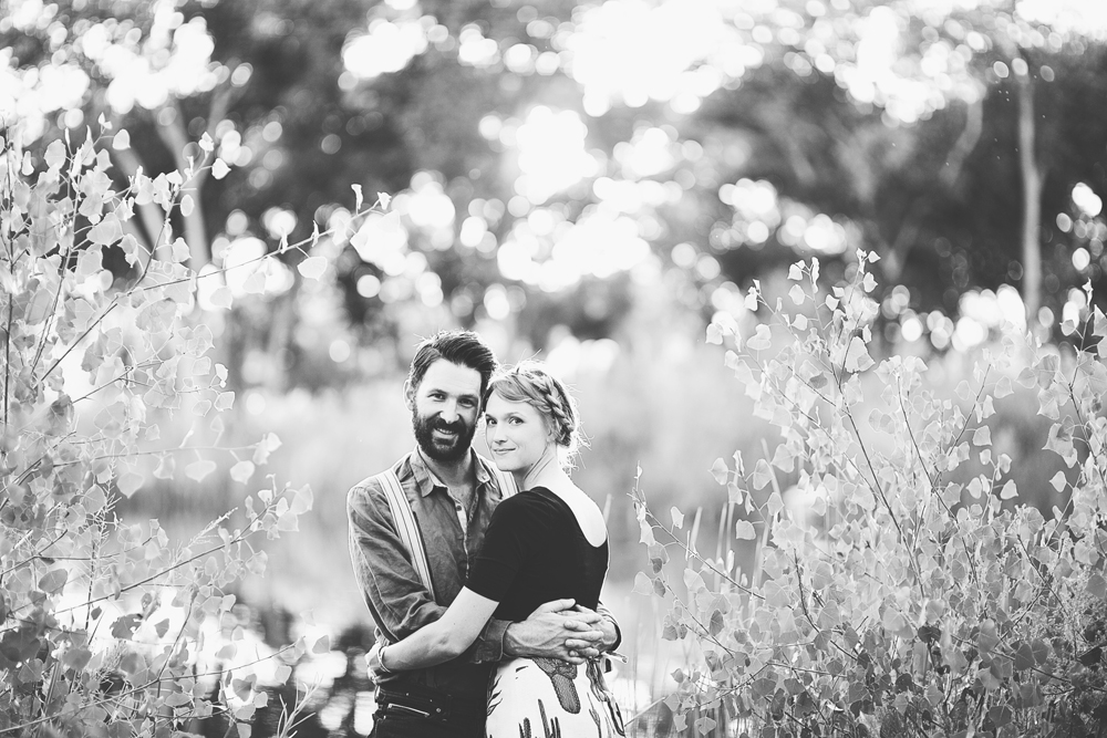 Ben + Chelsea | Albuquerque Sunflower Engagement Session | Liz Anne Photography 24