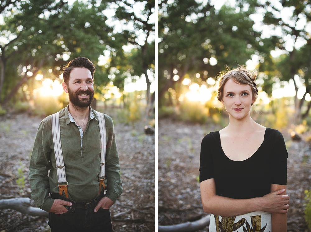 Ben + Chelsea | Albuquerque Sunflower Engagement Session | Liz Anne Photography 30