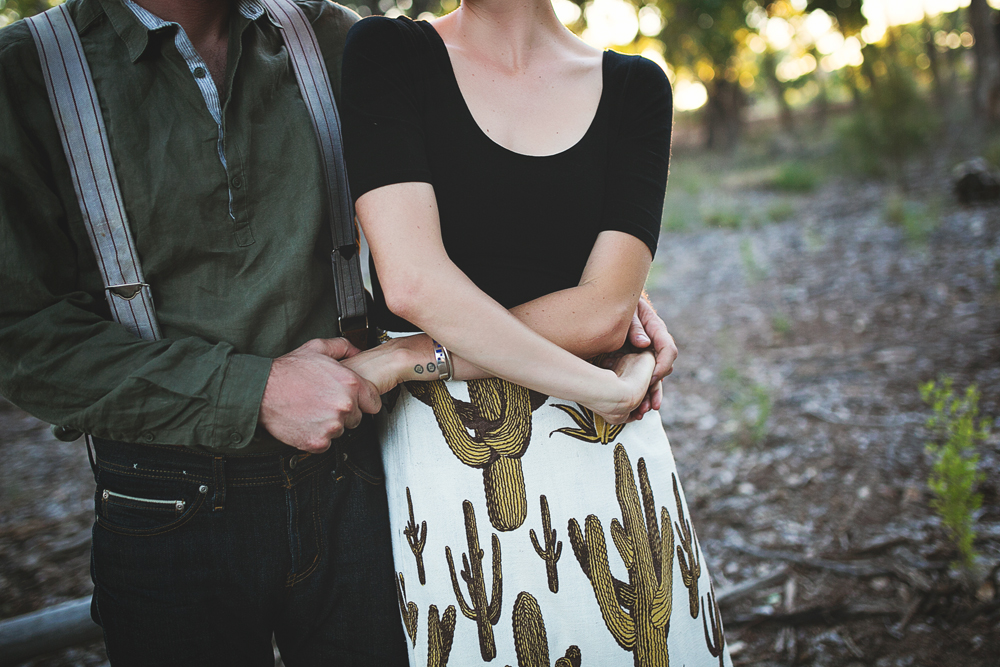 Ben + Chelsea | Albuquerque Sunflower Engagement Session | Liz Anne Photography 33