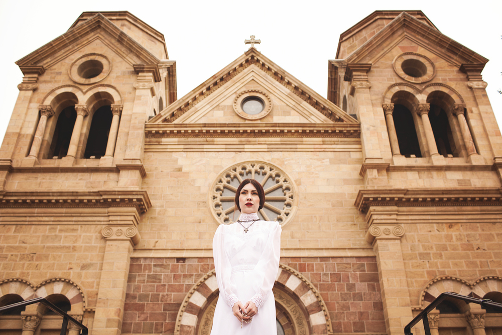 Liz Anne Photography | Santa Fe | New Mexico | Wedding | Cathedral Basilica of St. Francis of Assisi | Portrait | Styled 11.jpg
