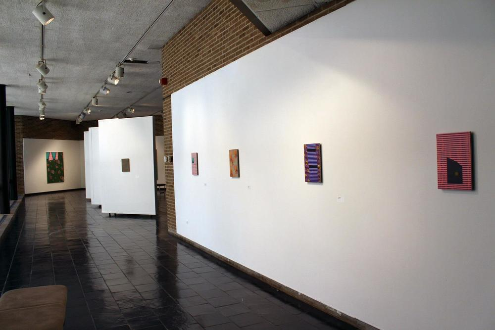 Installation shots- Solo Exhibition at Westchester Community College, State University of NY