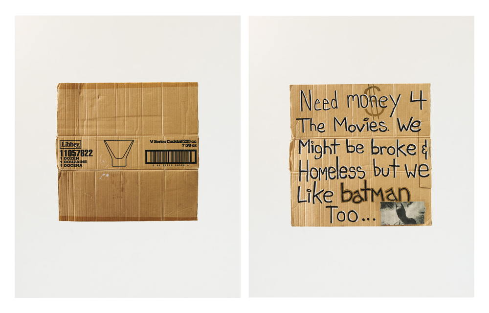 Charlotte & Shelby $5 (diptych), 2013 (from the series   How Much?  )    2013    C-print