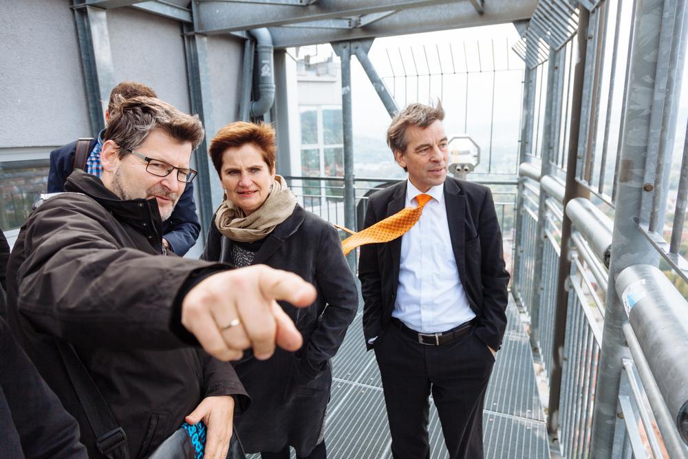 Internationale Bauausstellung Thüringen (IBA) on Tour, Jena 2015, Foto: Henry Sowinski