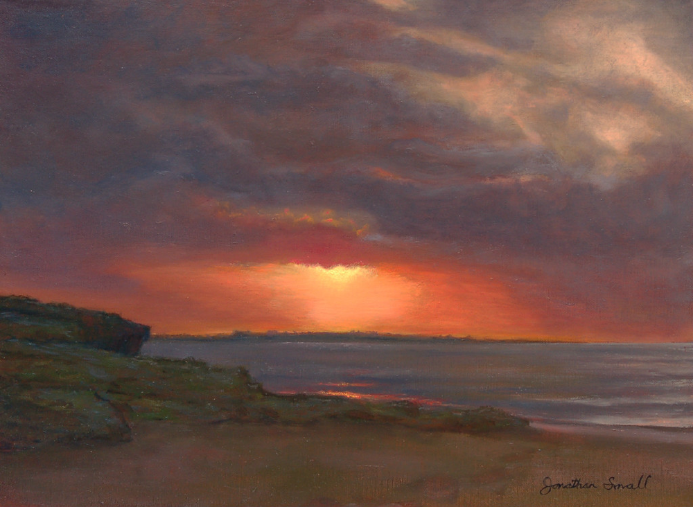 Jonathan Small, Second Beach Sunrise
