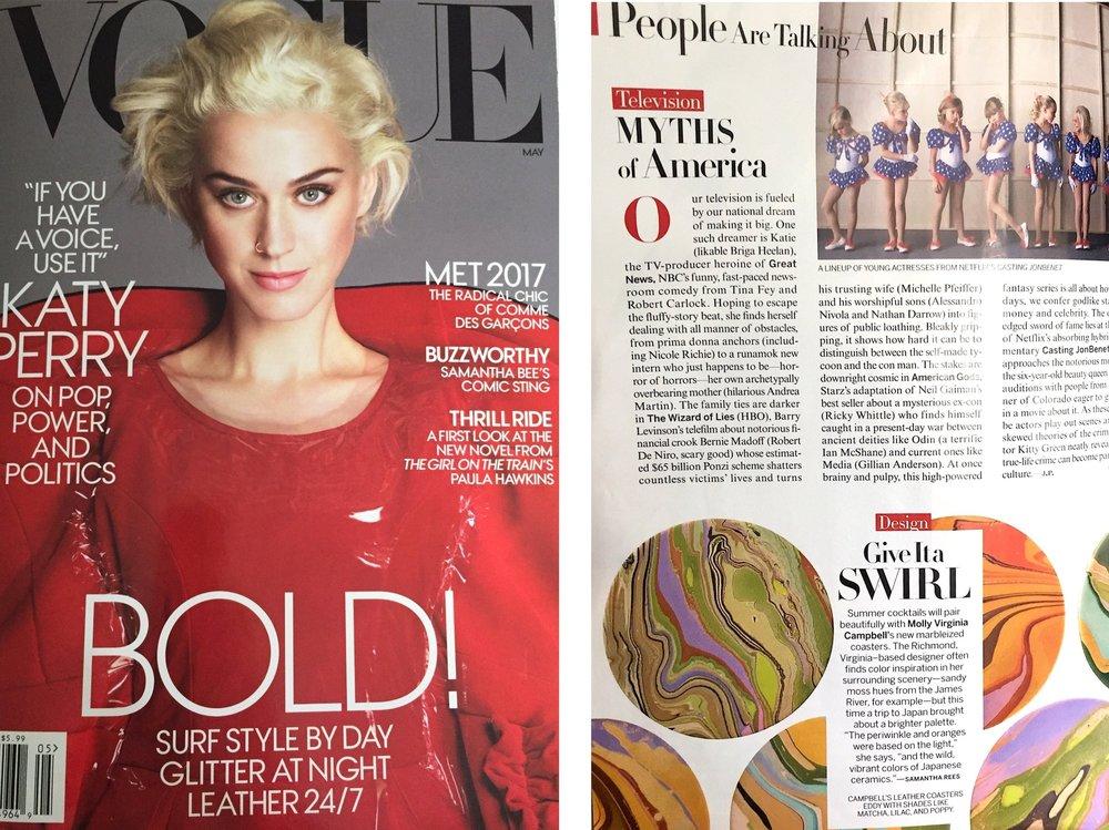 Vogue , May 2017