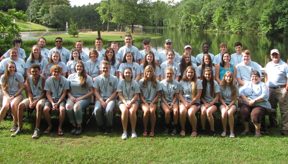 2016 Lake Nixon Summer Day Camp staff