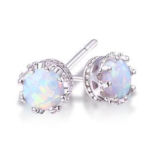 c3374aa66 Elise Opal Crown Stud Earrings ...
