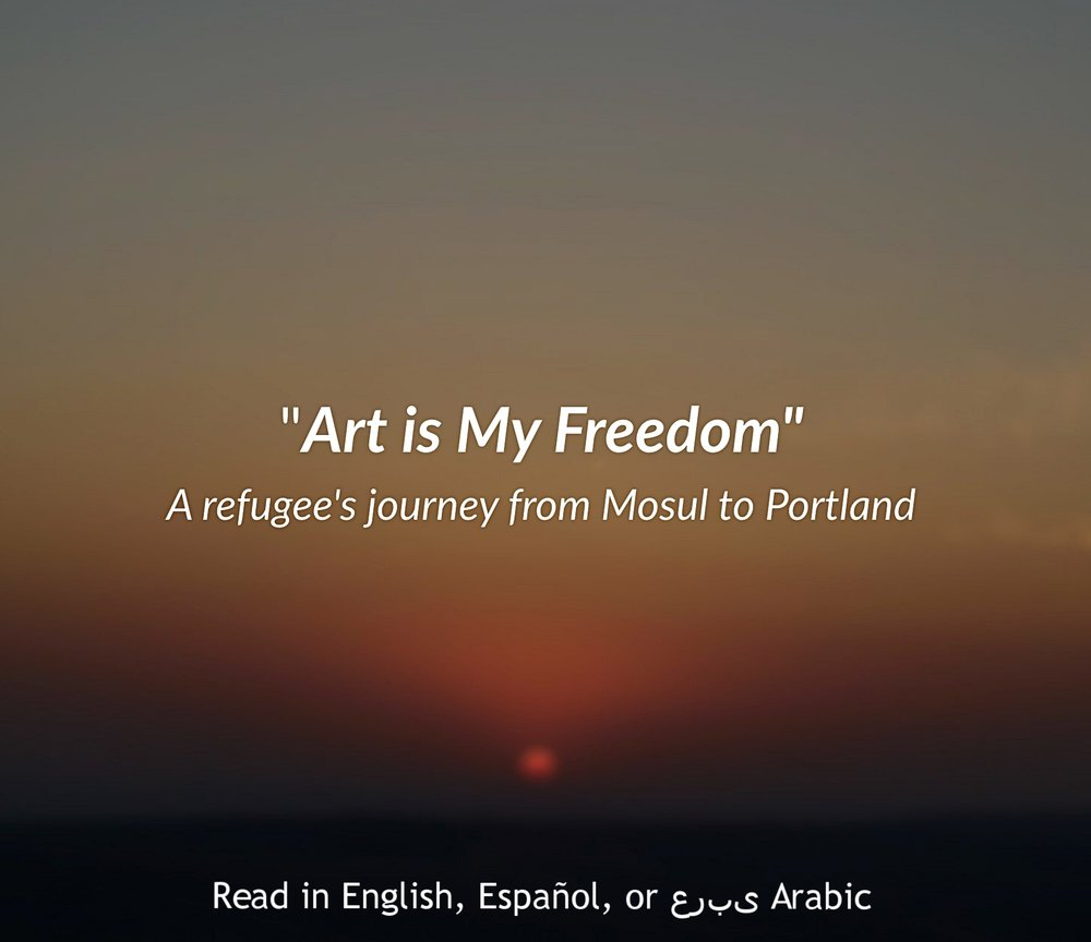 """Art is my Freedom"""