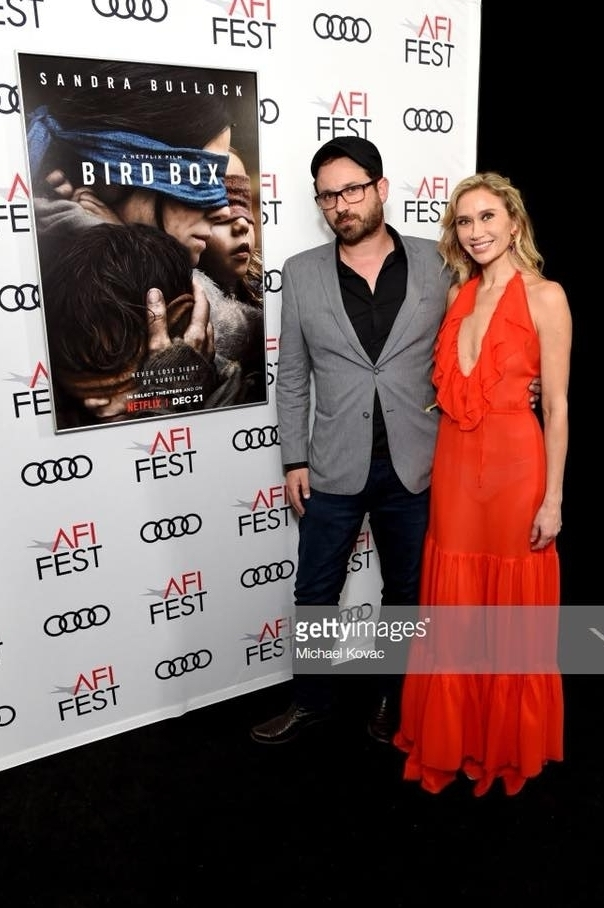 AFI FEST Bird Box Screening Josh Malerman and Allison Laakko