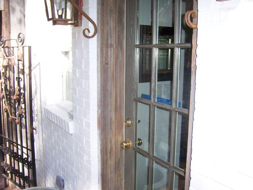 barn wood faux look on door jamb.jpg