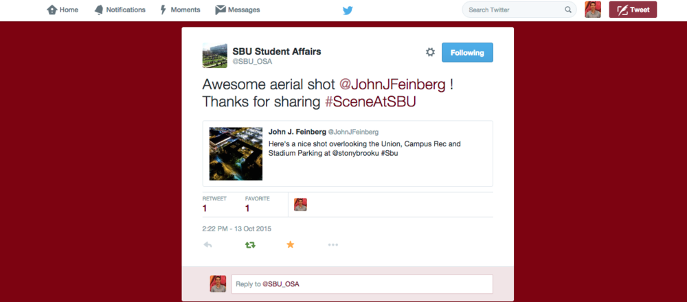 SBU Student Affairs Retweet:Mention.png