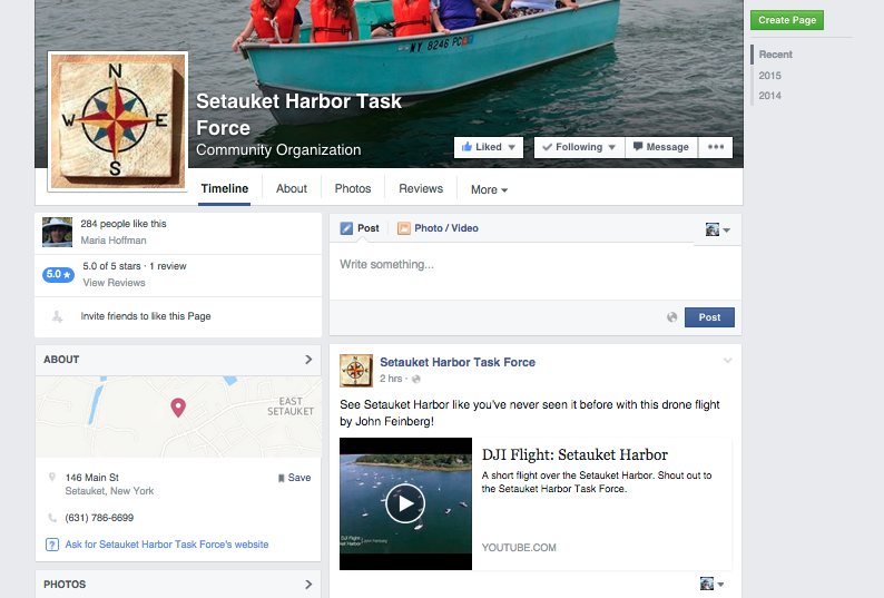 Setauket Harbor Task Force Facebook Mention.png