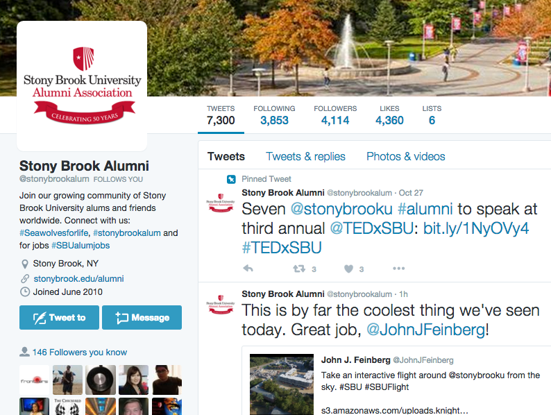Stony Brook Alumni Drone Quote Retweet for Drone.png