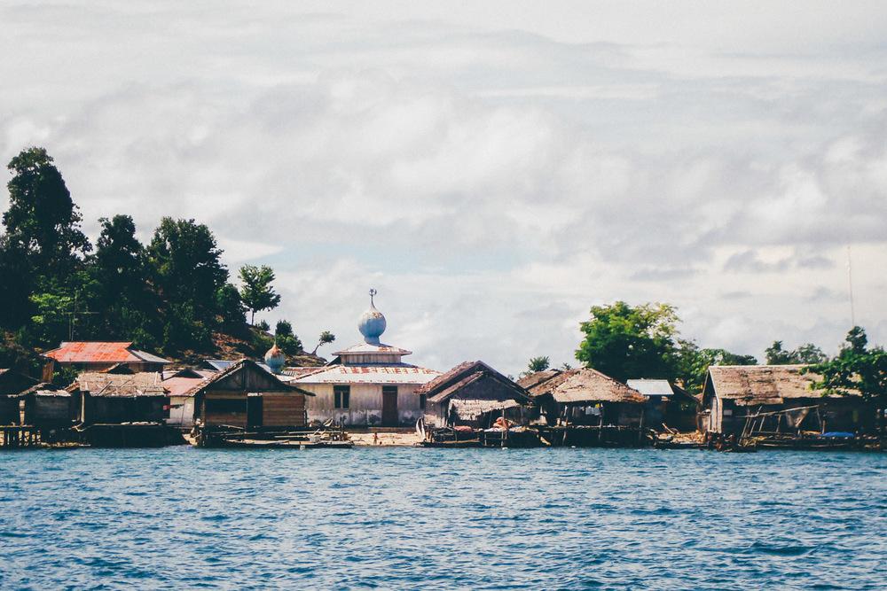 kepulauan togean, indonesia