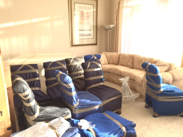 Packed up Living Room