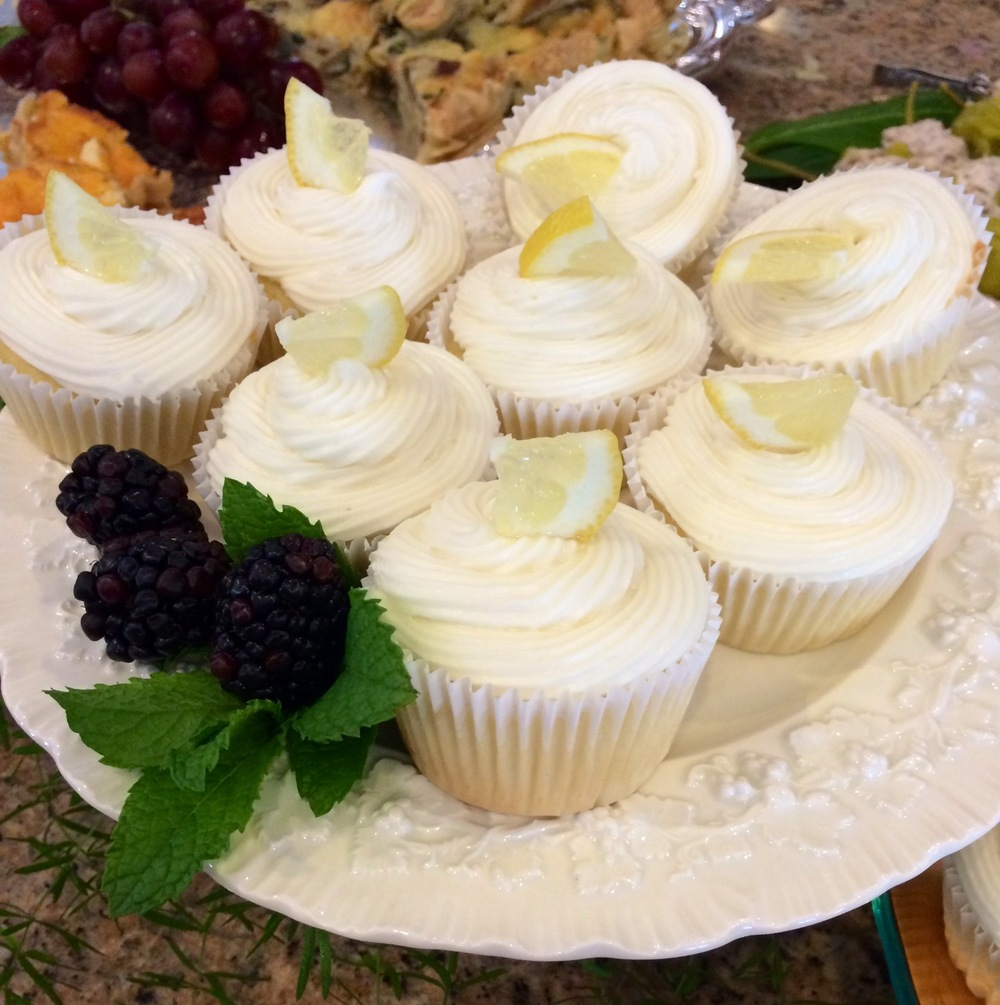 Lemoncello Cupcakes