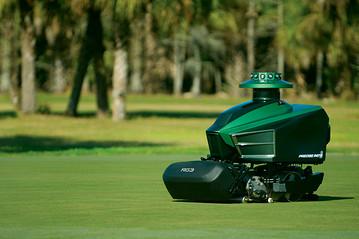Lawn mower from Precise Path Robotics, Inc., image via blogs.wsj.com