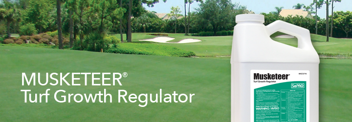 Musketeer Turf Growth Regulator.