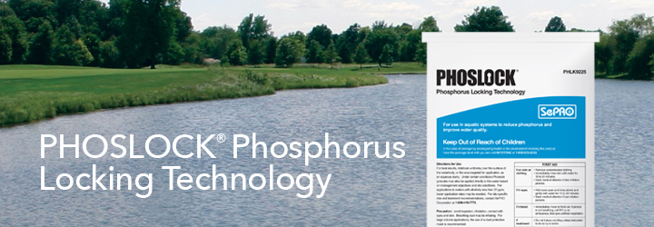 Phoslock Phosphorus Locking Technology.