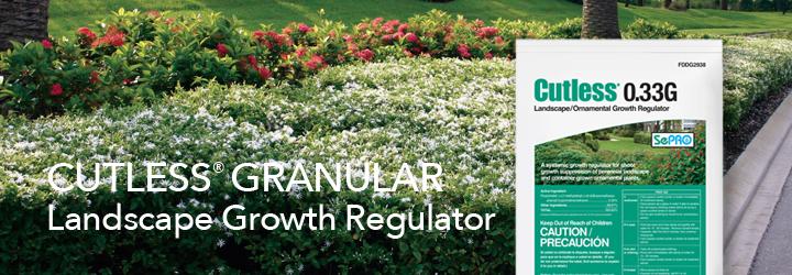 Cutless Granular Landscape/Ornamental Growth Regulator.