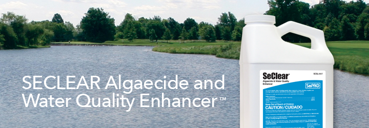 SeClear Algaecide and Water Quality Enhancer.