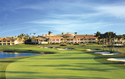 Clubhouse at Trump National Doral Miami (image via fabulously50.com).