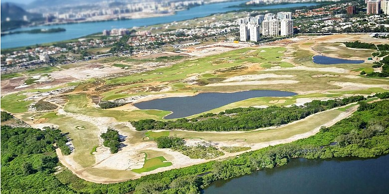 Rio's Olympic golf course.