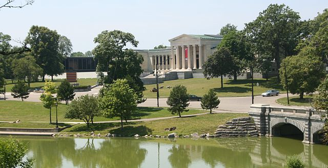 The Albright-Knox art gallery in Delaware Park. Credit: Dave Pape - Public Domain