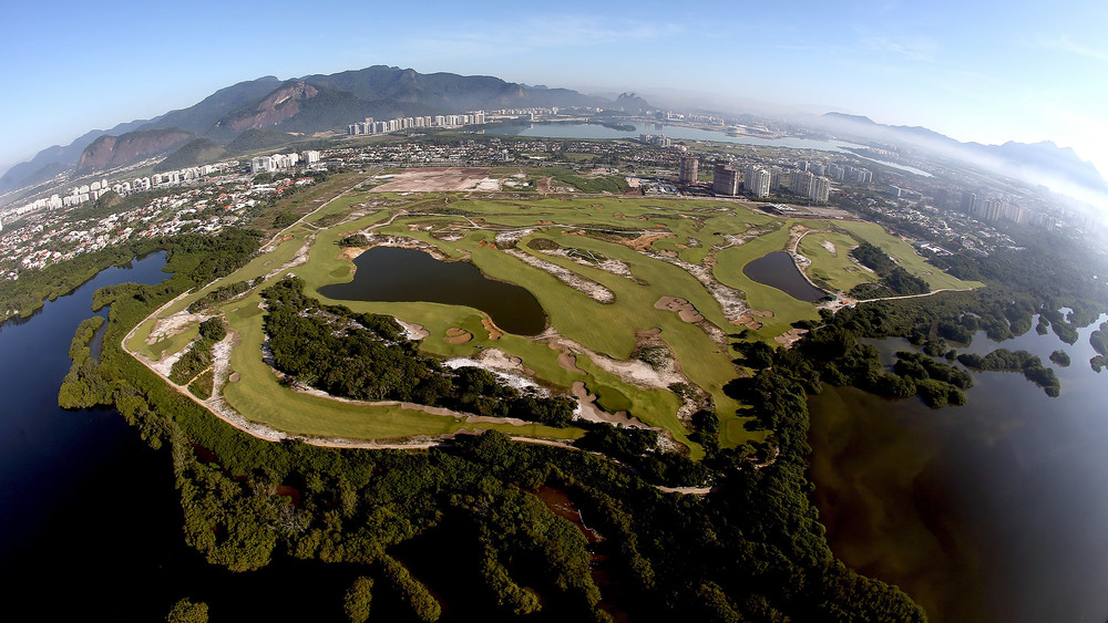 An aerial of the Olympic course. Credit: golfchannel.com